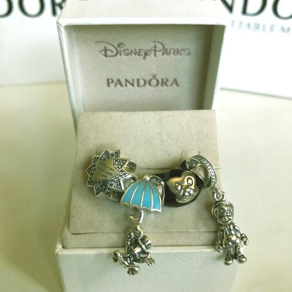 840d41158 Pandora Jewelry | Disney Pinocchio Charm Setof 4 New | Poshmark